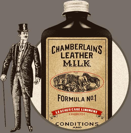 Chamberlain's Leather Milk - herre - No. 1
