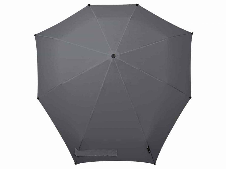 paraply-senz-automatic-Top-view-NOS-silk-grey-1021125